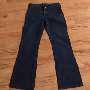 7 for all Mankind size 25 jeans